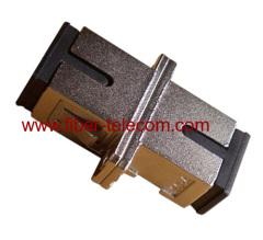 Adaptador SC simplex carcasa metálica