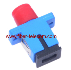 FC-SC SM Simplex hybrid optical fiber adaptor