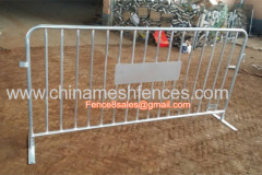 Temporary barrier fence panels