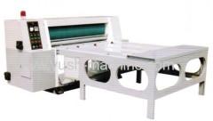 Chain type Rotary Die-cutter. Rotary Die-cutting Creasing Machine. Corrugated Carton Making Machine
