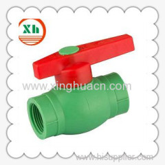 PP-R plastic socket ball valve