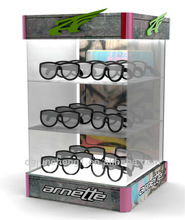 Acrylic Eyewear Sunglass displays rack