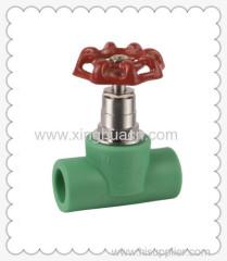 PP-R stop valve with handwheel