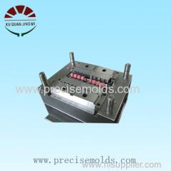 Plastic connector socket mold
