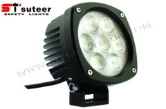 35W 6000lm Owl Series CREE LED Aux Working Lamp