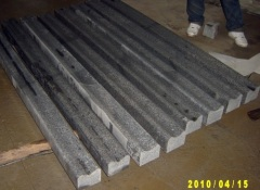 Brown marble slab for line