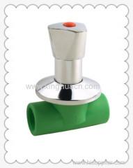 PP-R luxurous stop valve