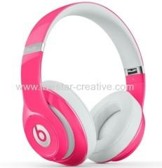 Beats Studio 2.0 Circumaural Closed-back Meer dan ear hoofdtelefoon Roze met actieve ruisonderdrukking
