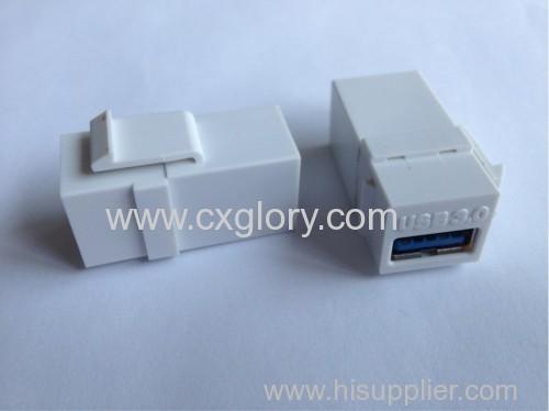 USB 3.0 Coupler Keystone Jack USB 3.0 Female to Female