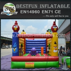 Angry Inflatable Birds Jumping Bouncer