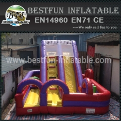 Vertical Rush Obstacle Climb Inflatable Slide