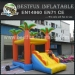 SpaceWalk inflatable Jungle Bouncer House