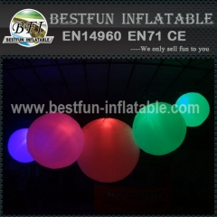 Inflatable Lighting Ball for Festivals