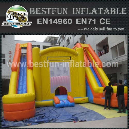 Big Jumping House with Two Slides