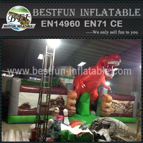 Big Inflatable Dinosaur Park