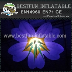 Large Inflatable Flowers Hanging Light