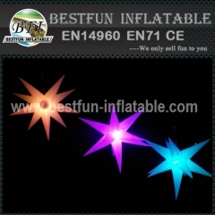 LED Inflatable Star Decorations Light