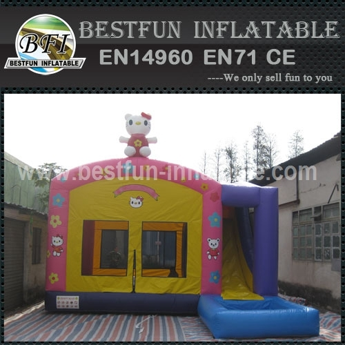 Lovely Hello Kitty bouncer with Slide & Pool