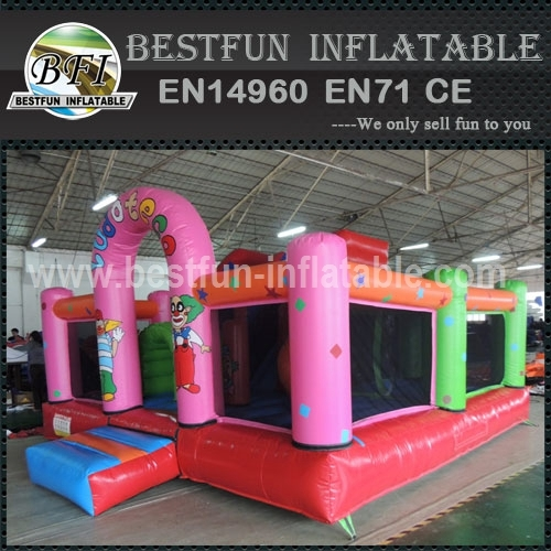 Inflatable Castle with Slide combo for Toddler Activity