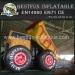 Giant Monster Truck Inflatable Slide