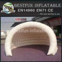 White Inflatable Ripstop Moon Tent