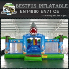 Shark Park Inflatable Bounce House