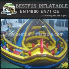 Inflatable Amusement Park Obstacle Course