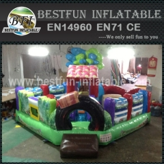 Plato PVC Tarpaulin Child Colorful Inflatable Fun City