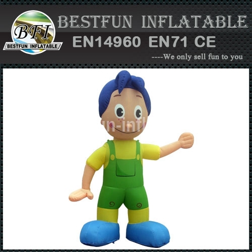 Inflatable Activity Mascot Model for Advertisement