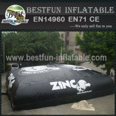 Inflatable best fun ski jump big air bag