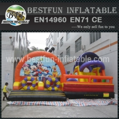 Mickey Inflatable playground For Kids