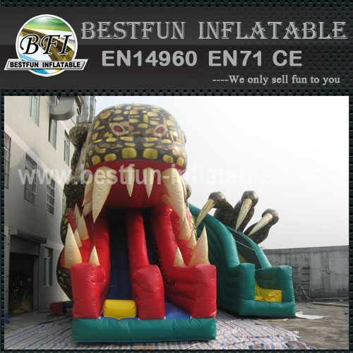 Inflatable Monster Kraken Slide