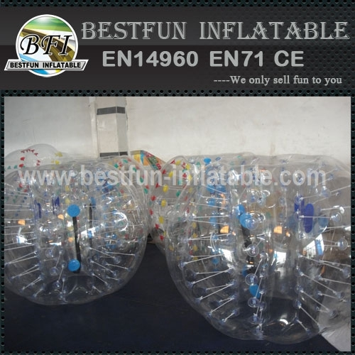 Inflatable Bumper Zorb Ball for Football Game