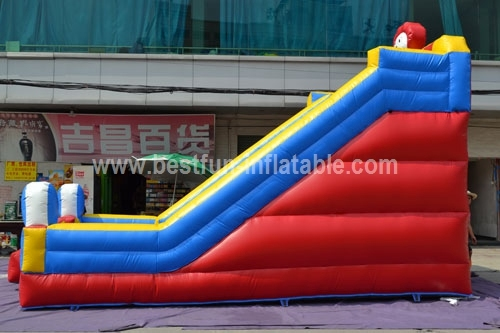 Big Circus Performers Inflatable Slide
