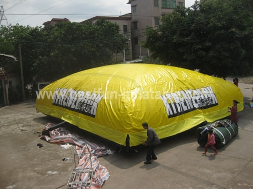 Chinese Airbags for Stunts Jumping