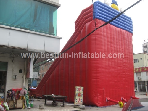 Clown Largest Inflatable Slide 2014