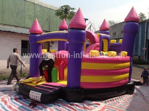 Commercial Grade Princess Inflatable Bouncer Castle
