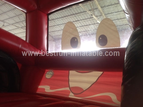 Commercial Inflatable Fire Truck Bouncer House