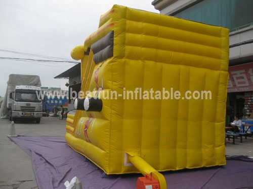 Giant Inflatable Black Pearl Pirate Slide