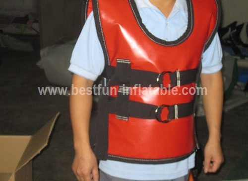 Inflatable Bungee Run Sport Game Harness