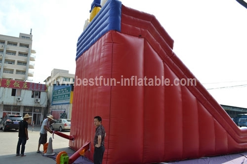 Inflatable Clown Bouncer Inflatable Slide