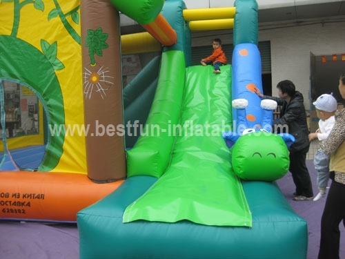 Inflatable Combo in Commercial Use