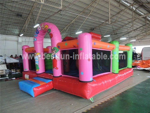 Inflatable Grown Bouncy Castle & Obstacle Course & Slide for Sale