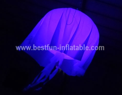 Inflatable Jellyfish LED Party Decorations Light