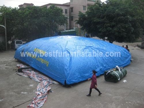 Inflatable Trampoline Big Air Bag