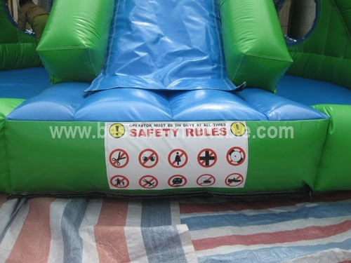 Inflatable Water Slide with Pool for Bigger Kids