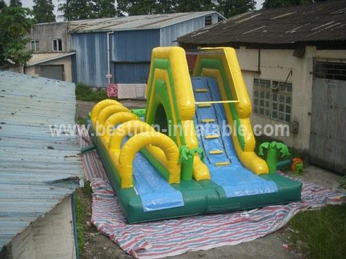 Inflate Water Slide with Slip n Pool