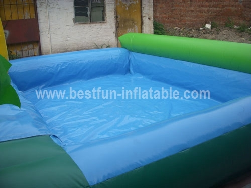 Inflate Water Slide with Slip n Pool
