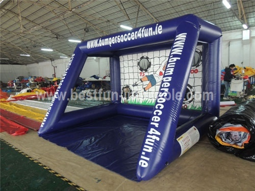 Infltable Football Goal for Sports