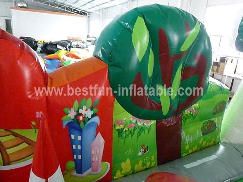 Interactive Inflatable Obstacle Course Fun Park